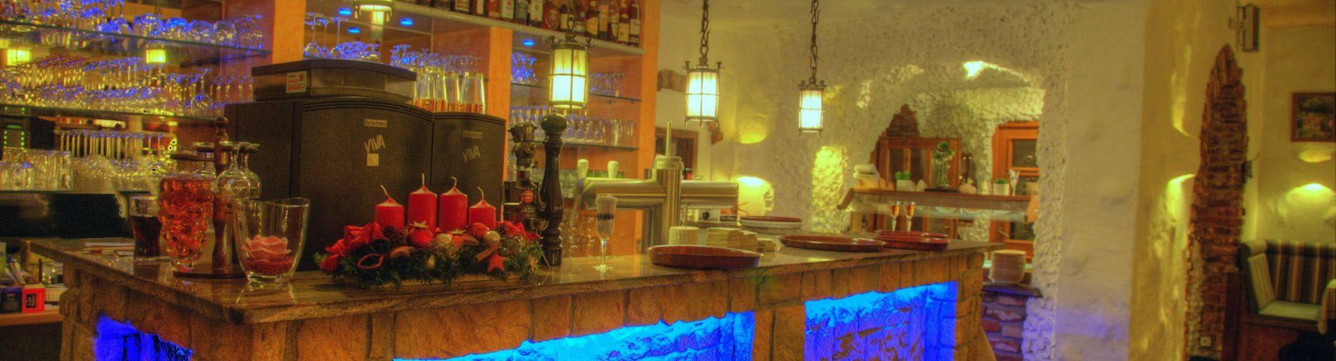 Abbilung der Theke / Bar Steak Restaurant Lindenhof